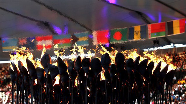 Culture Sport flamme Olympique Londres 2012
