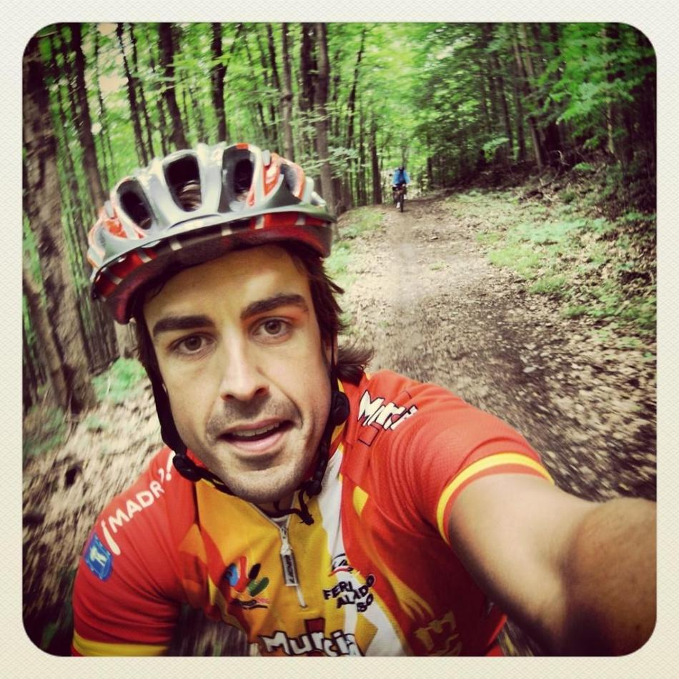 Culture Sport Fernando Alonso cyclisme