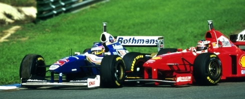 Culture Sport Jacques Villeneuve Michael Shumacher