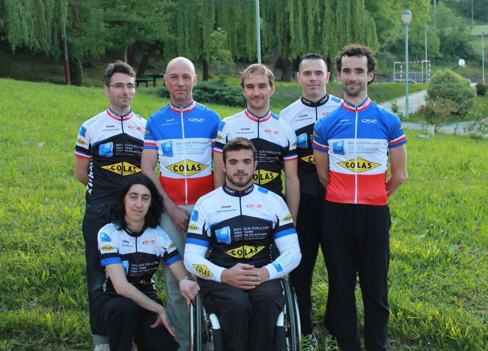 Culture Sport Team Ose Paracycling 2013