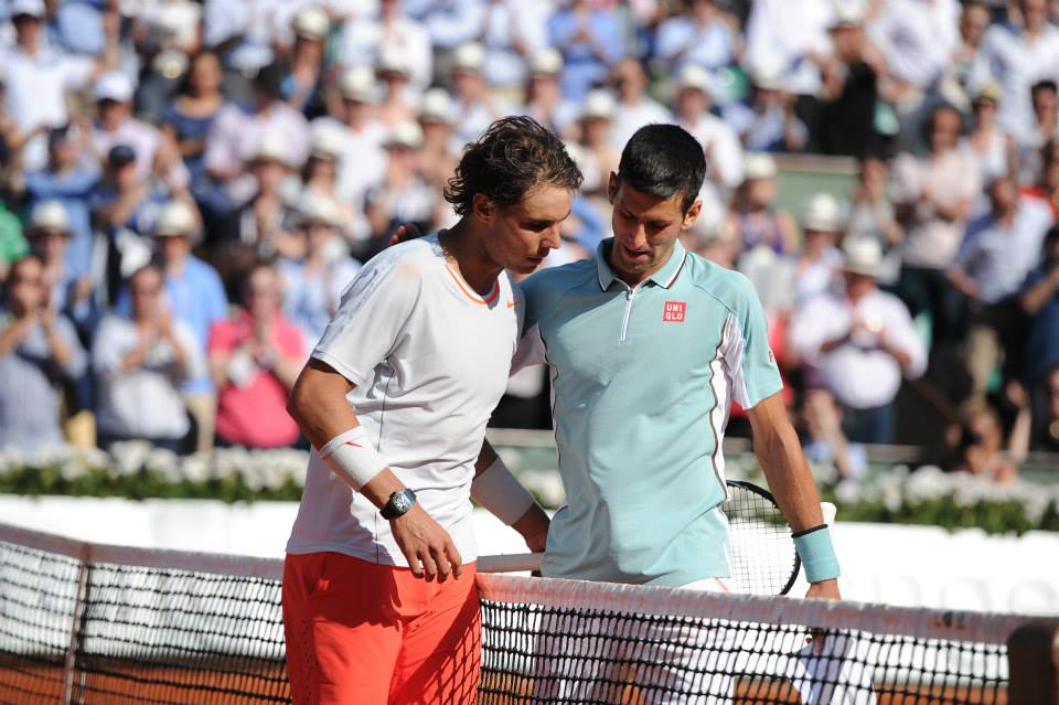 Culture Sport d'Or Rafael Nadal Novak Djokovic Roland Garros 2013