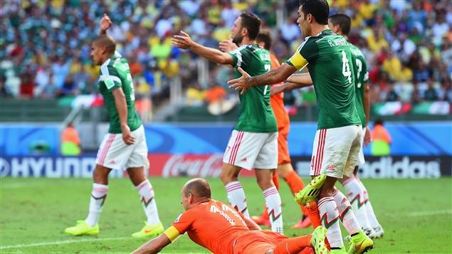 Culture Sport Coupe du Monde Pays-Bas Mexique