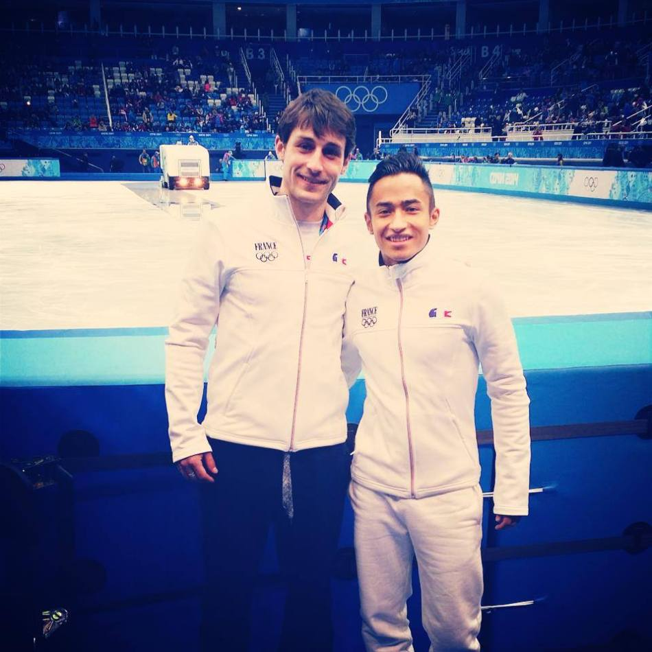 Culture Sport Florent Amodio Bryan Joubert Sochi
