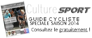 Culture Sport mag' guide cycliste saison 2014