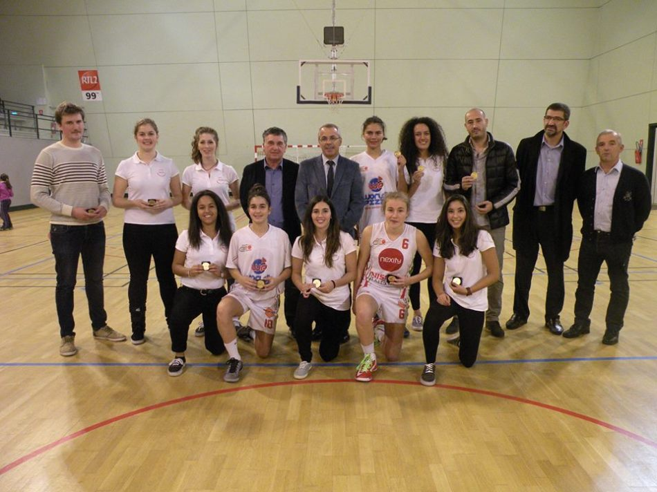 Culture Sport Anglet Côte Basque Basket cadettes