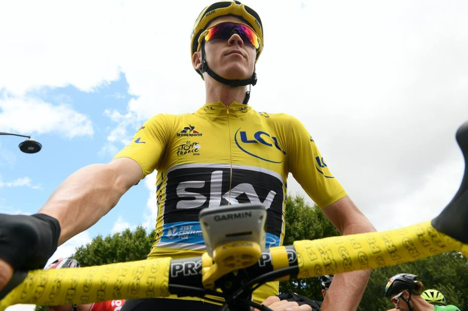 cultureSPORT Tour de France 2016 Christpher Froome