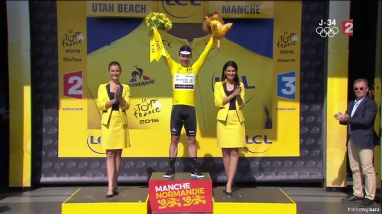 cultureSPORT Tour de France Mark Cavendish Maillot Jaune